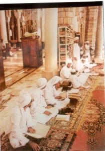 Shaykh al-Lahji in the Haram al-Makki