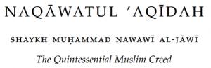 Naqawatul Aqidah